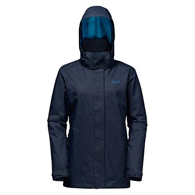 Jack Wolfskin Arborg 3-in-1 Waterproof Women's Jacket, Blue