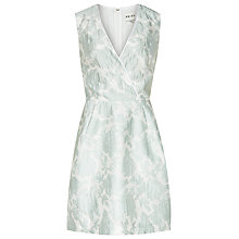 Buy Reiss Tate Jacquard Dress, Mint Online at johnlewis.com