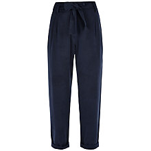 Buy Jaeger Slouchy Trousers, Midnight Online at johnlewis.com