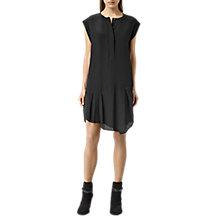 Buy AllSaints Roka Dress, Black Online at johnlewis.com