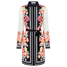 Buy Oasis Floral Shirt Dress, Multi Online at johnlewis.com