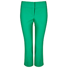 Buy Phase Eight Betty Crop Trousers, Emerald Online at johnlewis.com