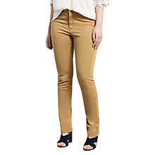 Buy Violeta by Mango Slim-fit Susan Jeans, Medium Yellow Online at johnlewis.com