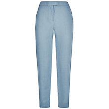 Buy Jaeger Linen 7/8 Chino Trousers Online at johnlewis.com