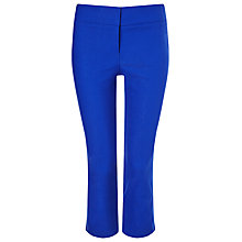 Buy Phase Eight Betty Crop Trousers, Marina Blue Online at johnlewis.com