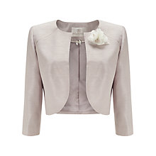Buy Jacques Vert Raglan Detail Bolero. Soft Taupe Online at johnlewis.com
