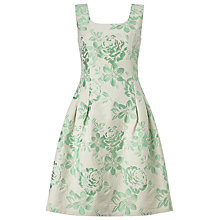 Buy Phase Eight Audrina Jacquard Dress, Mint Online at johnlewis.com