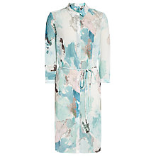 Buy Reiss Devah Printed Shirt Dress Online at johnlewis.com