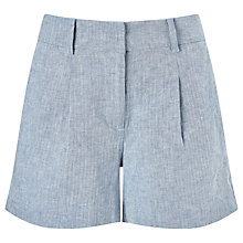 Buy Phase Eight Harri Shorts, Pale Blue Online at johnlewis.com