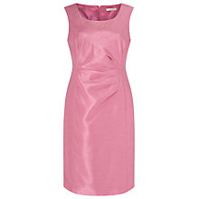 Buy Jacques Vert Petite Embellished Shift Dress, Rose Pink Online at johnlewis.com