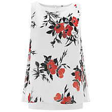Buy Jacques Vert Oriental Poppy Blouse, Cream/Red Online at johnlewis.com