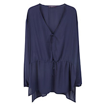 Buy Violeta by Mango Flowy Blouse Online at johnlewis.com