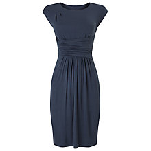 Buy Phase Eight Vera Drape Dress, Navy Online at johnlewis.com