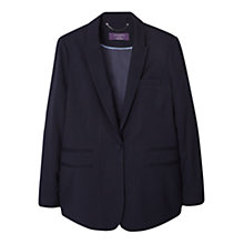 Buy Violeta by Mango Essential Structured Blazer, Black Online at johnlewis.com