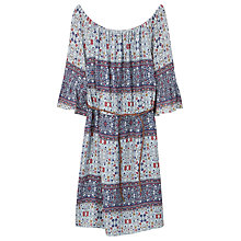 Buy Violeta by Mango Mixed Print Dress, Navy Online at johnlewis.com