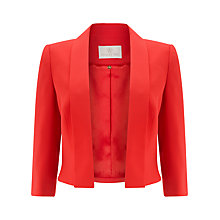 Buy Jacques Vert Edge To Edge Jacket, Red Online at johnlewis.com