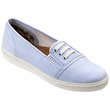 Buy Hotter Essmy Slip On Lace Detail Plimsolls Online at johnlewis.com