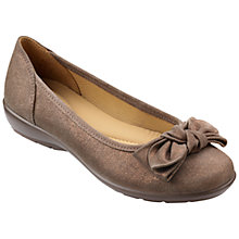 Buy Hotter Made in England Jewel Leather Ballet Pumps Online at johnlewis.com