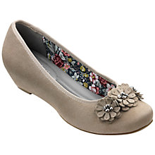 Buy Hotter Peony Concealed Wedge Pumps Online at johnlewis.com