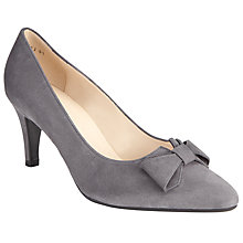 Buy Peter Kaiser Valona Bow Pointed Toe Court Shoes Online at johnlewis.com