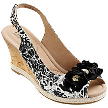 Buy Hotter Hattie Wedge Heeled Sandals Online at johnlewis.com