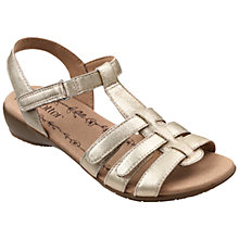Buy Hotter Leeward Multi Strap Sandals Online at johnlewis.com