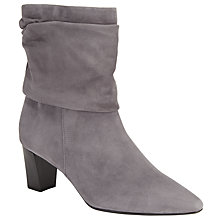 Buy Peter Kaiser Maj Ankle Boots, Grey Online at johnlewis.com