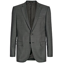 Buy Jaeger Wool Sharkskin Modern Suit Jacket, Grey Online at johnlewis.com