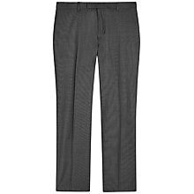 Buy Jaeger Wool Sharkskin Modern Suit Trousers, Grey Online at johnlewis.com