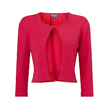 Buy Phase Eight Calleigh Cardigan, Magenta Online at johnlewis.com
