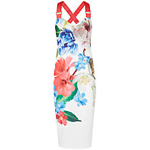Buy Ted Baker Alexie Forget Me Not Midi Dress Online at johnlewis.com