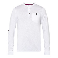 Buy Ted Baker Enry Henley Neck Long Sleeve Top Online at johnlewis.com