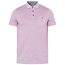 Buy Ted Baker Inwop Linen Collar Striped Polo Shirt Online at johnlewis.com