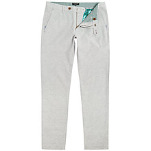Buy Ted Baker Linchi Trousers, Grey Online at johnlewis.com