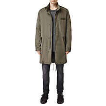 Buy AllSaints Elm Parka Coat, Khaki Green Online at johnlewis.com