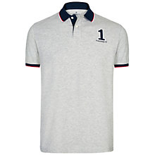 Buy Hackett London Large Number New Classic Polo Shirt Online at johnlewis.com