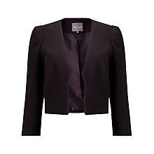 Buy Phase Eight Andrea Jacket, Aubergine Online at johnlewis.com