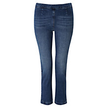Buy East Capri Jeans, Indigo Online at johnlewis.com