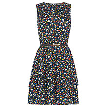 Buy Oasis Ditsy Ruffle Tiered Dress, Multi Online at johnlewis.com