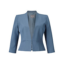 Buy Phase Eight Henriette Jacket, Steel Blue Online at johnlewis.com