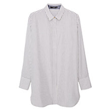 Buy Mango Striped Shirt, Light Beige Online at johnlewis.com