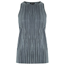 Buy Warehouse Plisse Tank Top Online at johnlewis.com