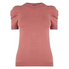 Buy Warehouse Puff Short Sleeve Jumper Online at johnlewis.com