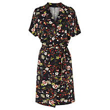 Buy Warehouse Leafy Ditsy Dress, Multi Online at johnlewis.com