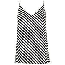 Buy Oasis Diagonal Stripe Camisole Top, Multi Online at johnlewis.com