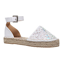 Buy Miss KG Darlene Espadrilles, Nude Online at johnlewis.com