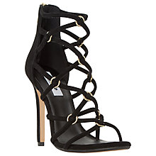Buy Dune Memphiss Strappy Stiletto Heel Loop Detail Sandals Online at johnlewis.com