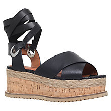 Buy KG by Kurt Geiger Noah Platform Sandals Online at johnlewis.com