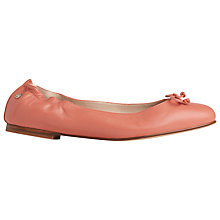 Buy L.K. Bennett Thea Bow Detail Pumps, Rosebud Leather Online at johnlewis.com