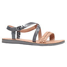Buy UGG Jordyne Cross Strap Sandals Online at johnlewis.com